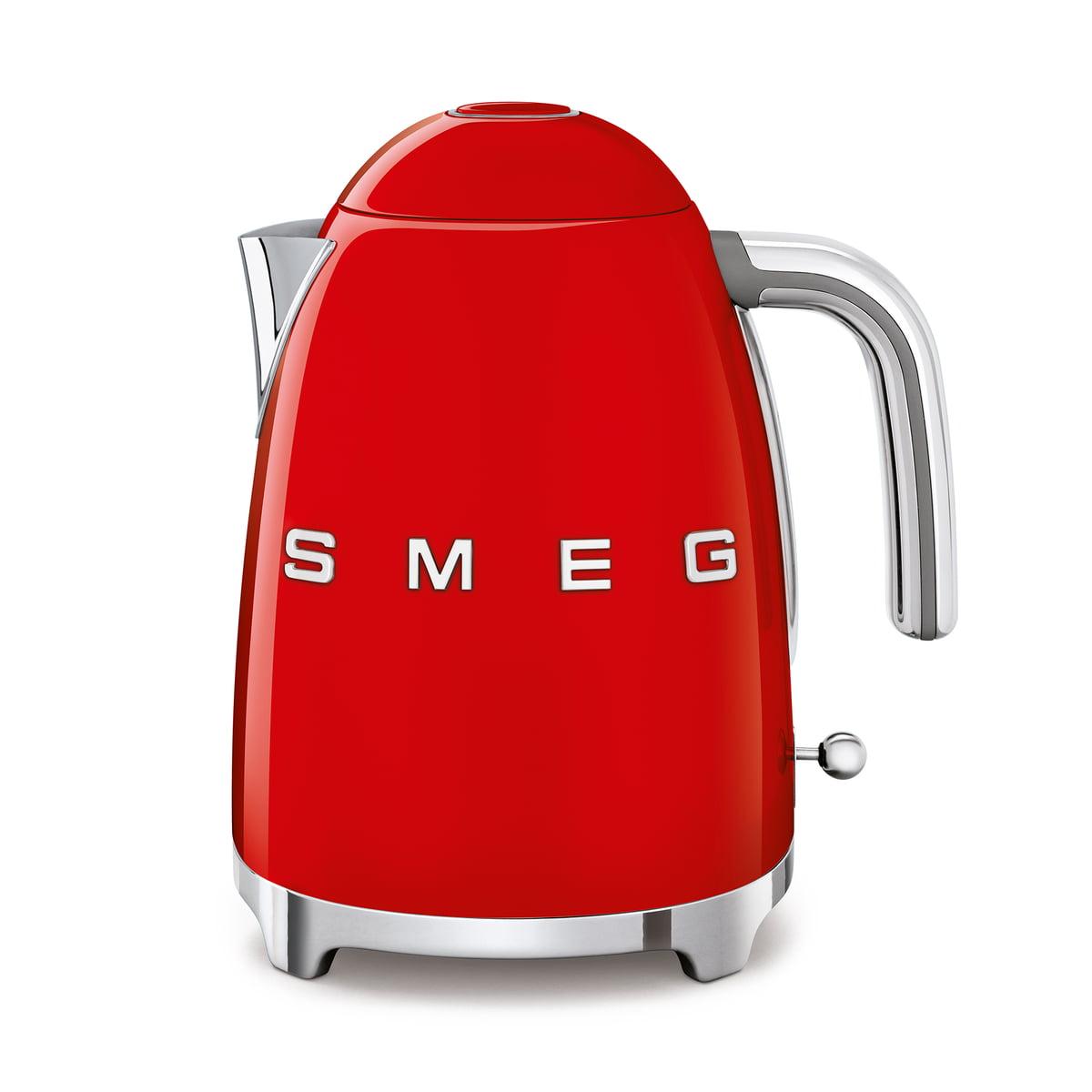 Smeg - Wasserkocher 1,7 l (KLF03), rot | Küche und Esszimmer > Küchengeräte | Rot | Edelstahl -  lackiert | Smeg