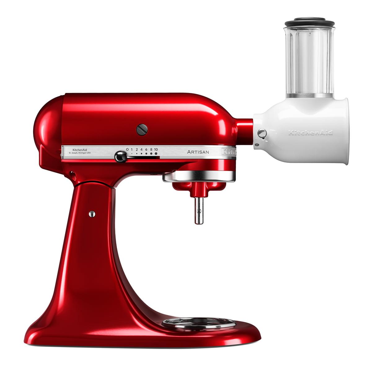 KitchenAid - Artisan Küchenmaschine 4.8 l, Veggi Set, empire rot | Küche und Esszimmer > Küchengeräte > Rührgeräte und Mixer | Kitchen Aid