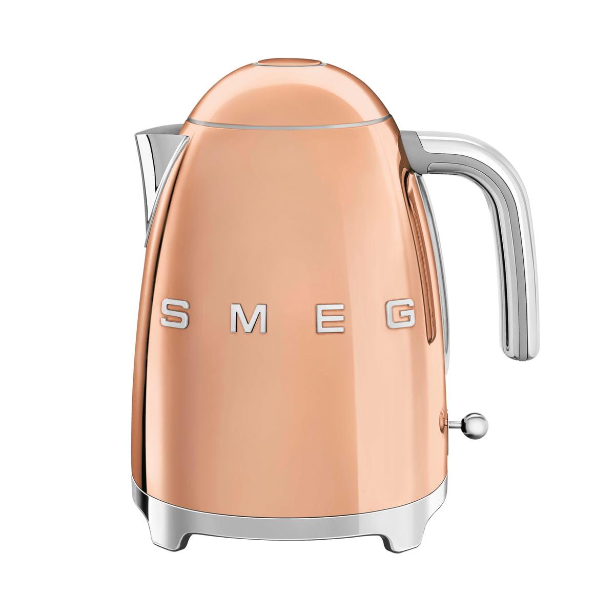 Smeg - Wasserkocher 1,7 l (KLF03), rosegold | Küche und Esszimmer > Küchengeräte > Wasserkocher | Roségold | Edelstahl -  lackiert | Smeg