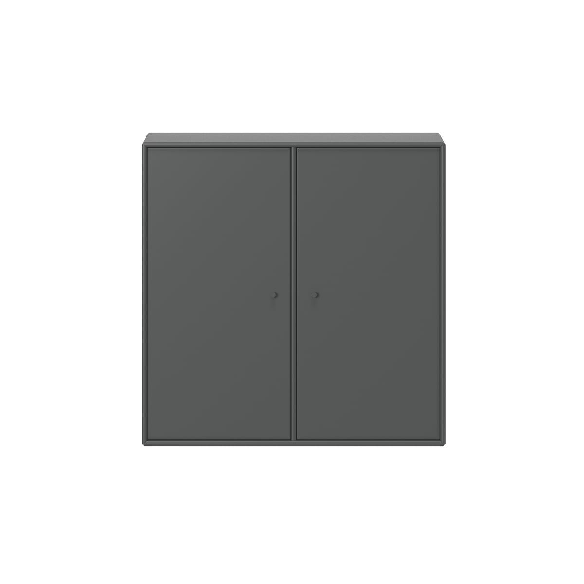 Montana - Cover Schrank mit Aufhängung, anthrazit | Wohnzimmer > Schränke > Weitere Schränke | Anthrazit | 12 mm mdf-platten | Montana
