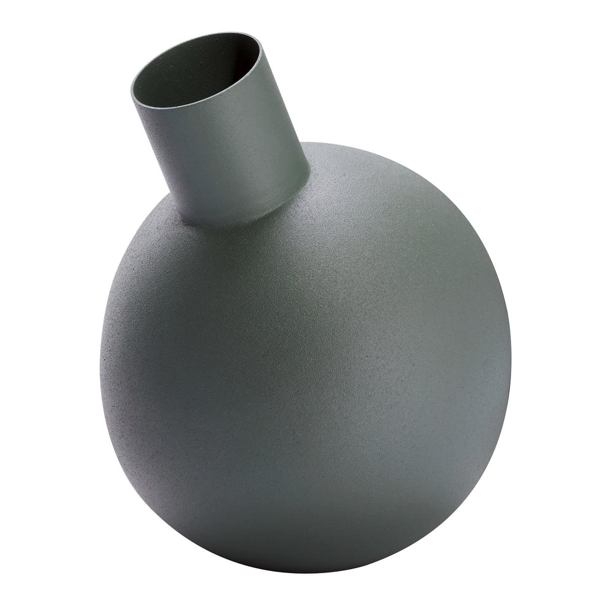 Philippi Design Philippi - Balloon Vase L, grau | Dekoration > Vasen > Tischvasen | Grau | Stahl | Philippi Design