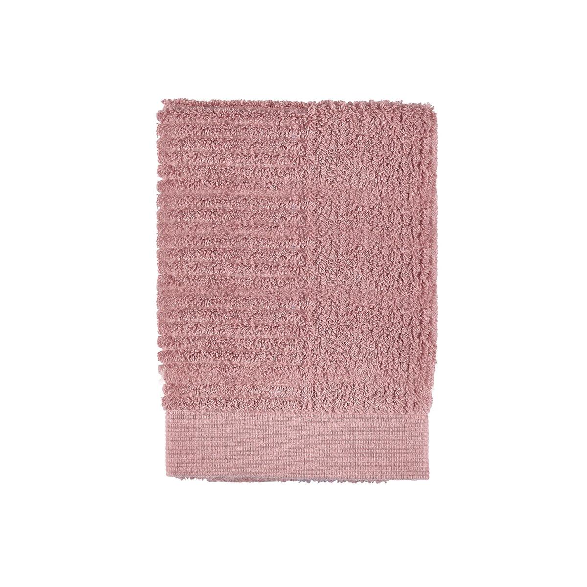 Zone Denmark - Classic Gästehandtuch, 50 x 70 cm, rose   Bad > Handtücher > Gästehandtücher   Zone Denmark