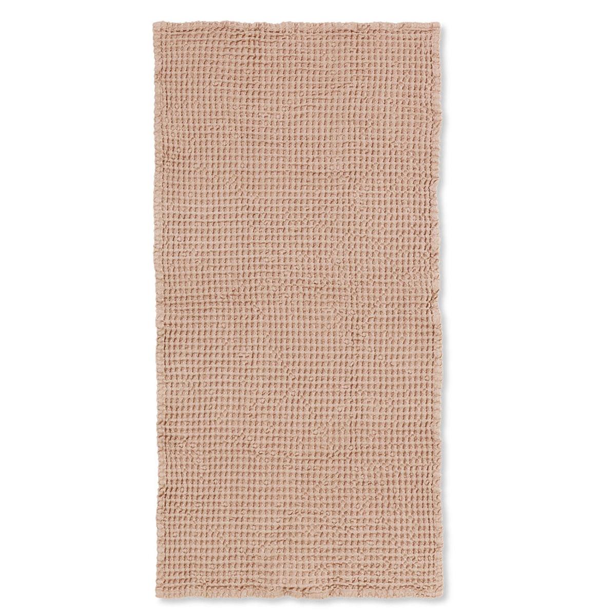 ferm Living - Organic Badetuch, 140 x 70 cm, dusty rose | Bad > Handtücher > Badetücher | ferm living