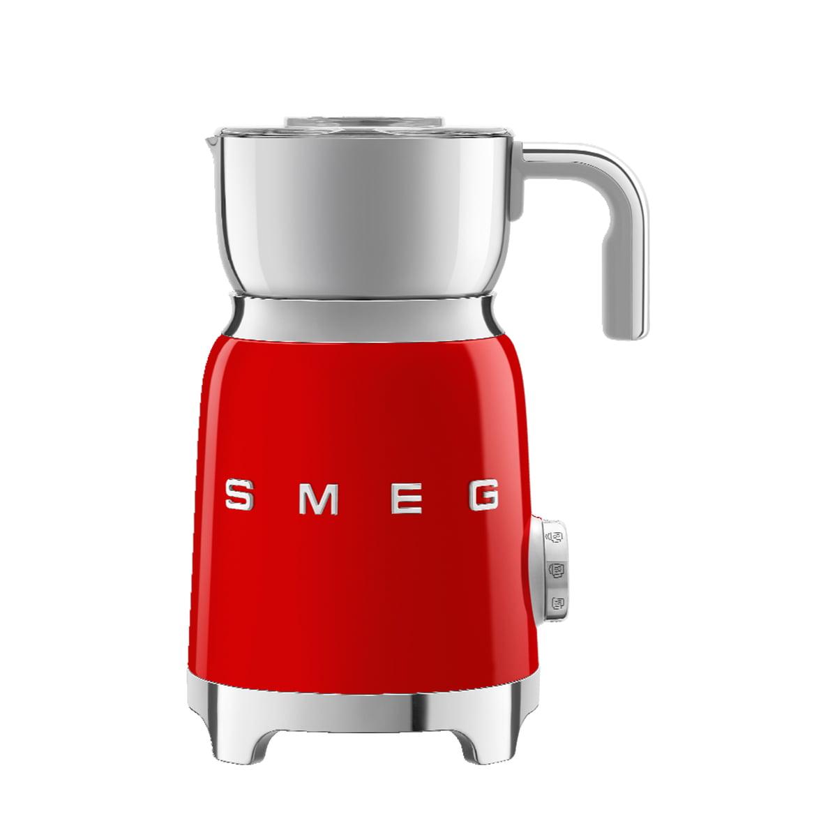 Smeg - Milchaufschäumer MFF01, rot   Küche und Esszimmer > Kaffee und Tee > Milchaufschäumer   Smeg