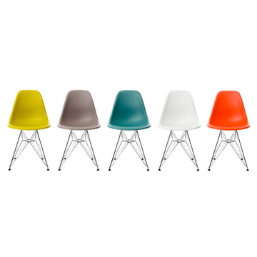 eames plastic side chair dsr von vitra. Black Bedroom Furniture Sets. Home Design Ideas