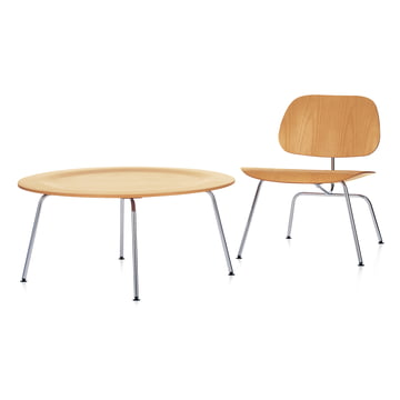 Vitra - Plywood Group LCM, Esche natur - Plywood Group CTM Couchtisch, Esche natur