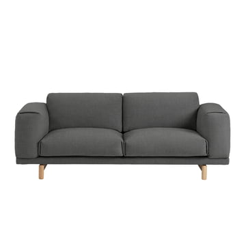 rest sofa 2 sitzer von muuto connox shop. Black Bedroom Furniture Sets. Home Design Ideas
