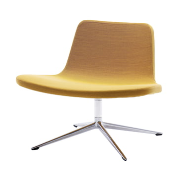 Hay - Ray Lounge Chair, Drehgestell, Stoff