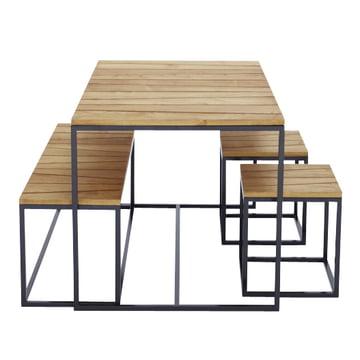 tischgruppe alois jan kurtz shop. Black Bedroom Furniture Sets. Home Design Ideas