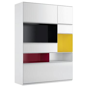 adhoc schrank zanotta shop. Black Bedroom Furniture Sets. Home Design Ideas
