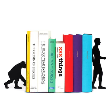 Doiy - Evolution Bookend - mit Büchern