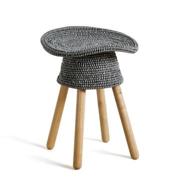 Coiled hocker von umbra im wohndesign shop for Garderobe umbra