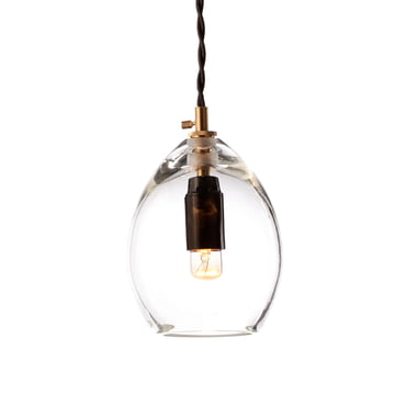 Die Northern Lighting - Unika Pendelleuchte in klein, transparent