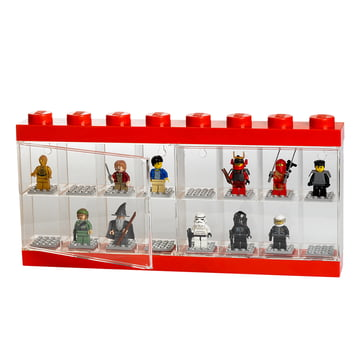 Lego - Storage Box & Minifigure Display Case 16 rot