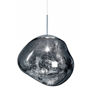 Melt Pendelleuchte von Tom Dixon in Chrom
