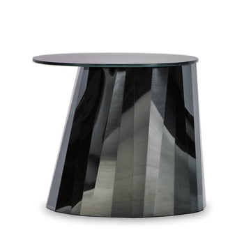 ClassiCon - Pli Side Table, onyx-schwarz glänzend