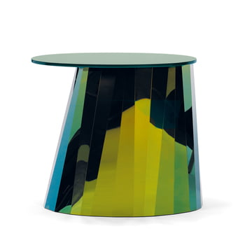 ClassiCon - Pli Side Table, topas-grün glänzend