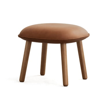 Ace Hocker Tango Leather von Normann Copenhagen in Brandy