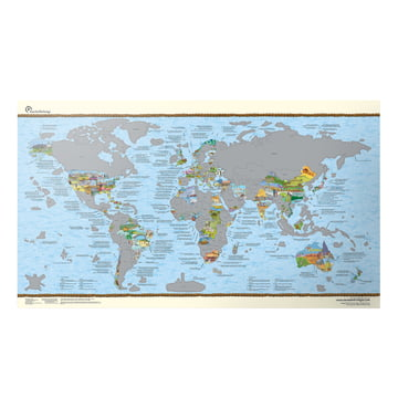 Travelmap von awesome maps online kaufen for Awesome englisch