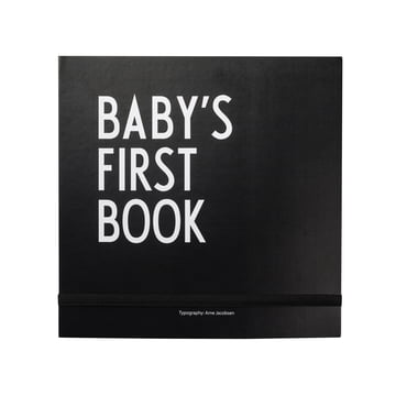 Design Letters - Baby's First Book, schwarz