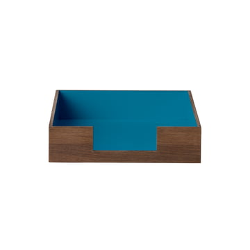 Letter Tray von ferm Living in Blau