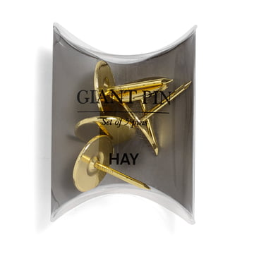 Giant Pins von Hay in Gold (5 Stk.)