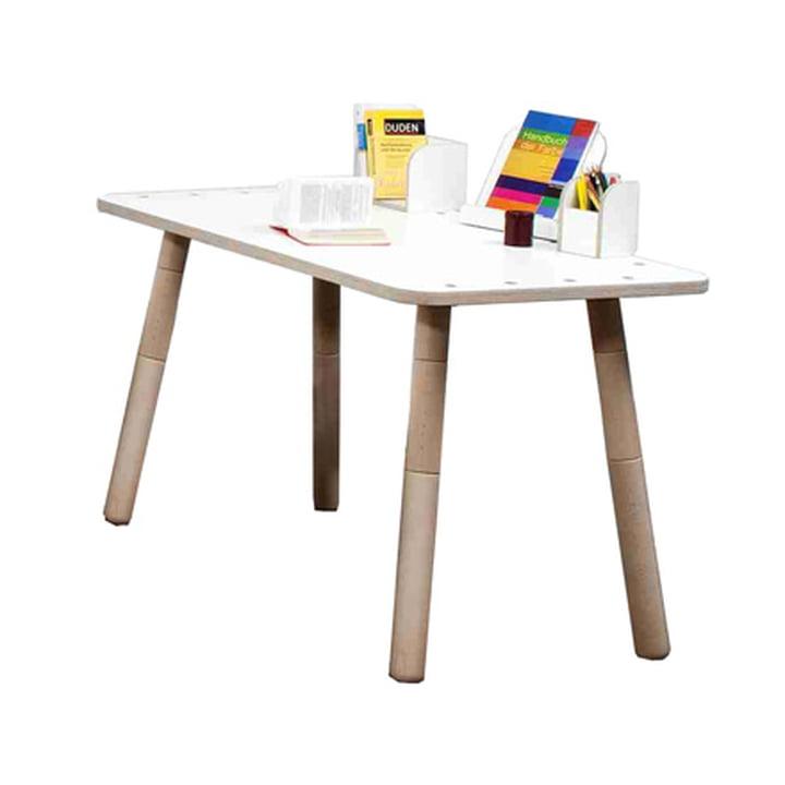 Pure position growing table tisch hpl for Design tisch adventskalender