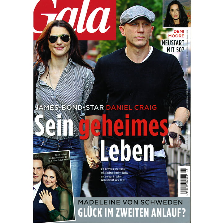 Gala connox for Spiegel cover aktuell