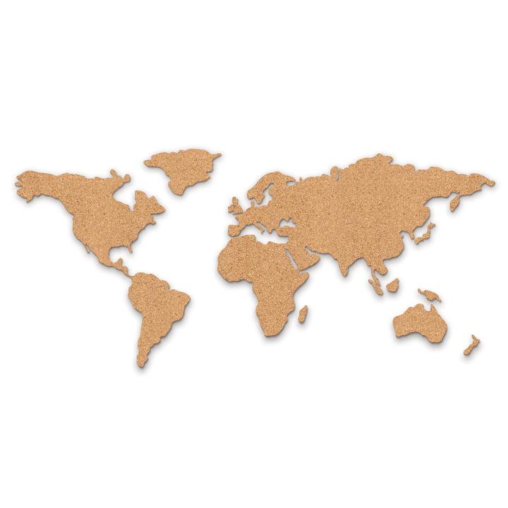 Weltkarte pinnwand aus kork von luckies connox shop for Connox adventskalender