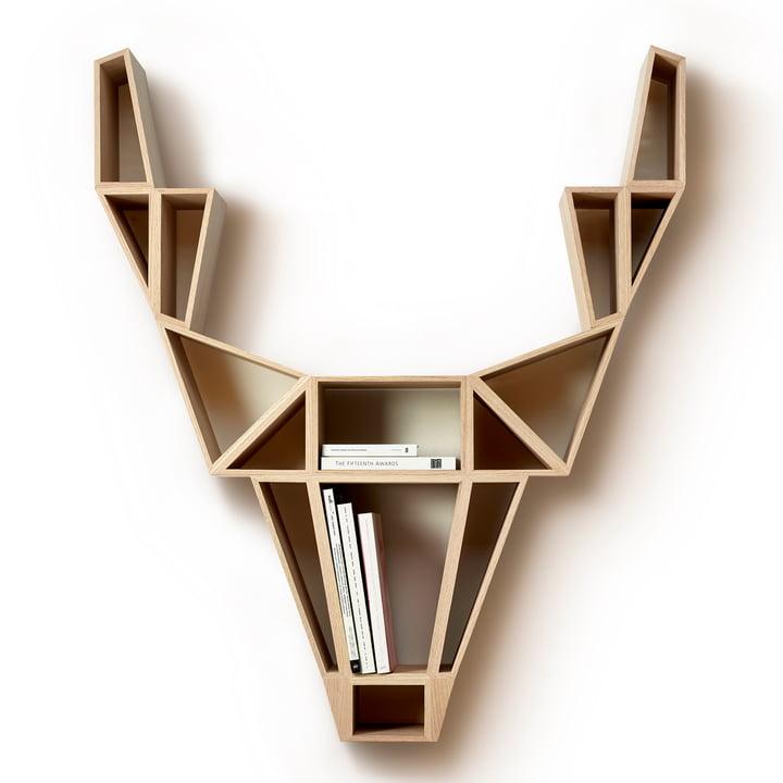 deer wood regal von bedesign im shop. Black Bedroom Furniture Sets. Home Design Ideas