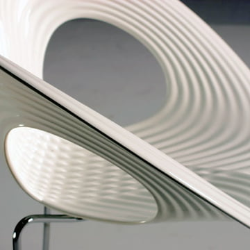 Ripple Chair von Moroso in Weiß