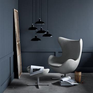 egg chair von fritz hansen kaufen connox shop. Black Bedroom Furniture Sets. Home Design Ideas