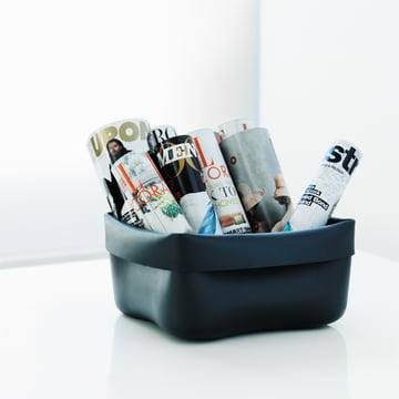 Normann Copenhagen - Washing up bowl, schwarz - Ambiente