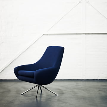 Softline - Noomi Lounge Sessel, blau