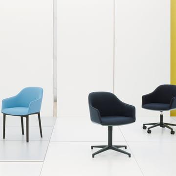 softshell chair von vitra connox shop. Black Bedroom Furniture Sets. Home Design Ideas