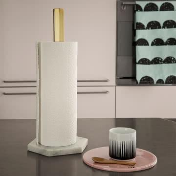 hexagon k chenrollenhalter von ferm living. Black Bedroom Furniture Sets. Home Design Ideas