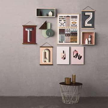 ferm living wire basket medium im shop. Black Bedroom Furniture Sets. Home Design Ideas