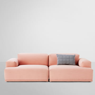 Muuto - Connect Sofa, rosa - A- / B-Modul