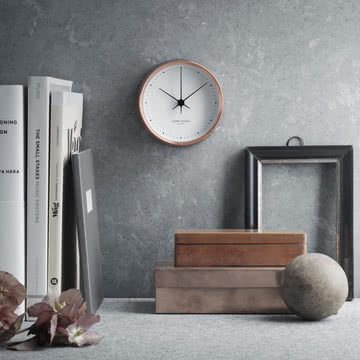 Georg Jensen - Henning Koppel Copper Clock