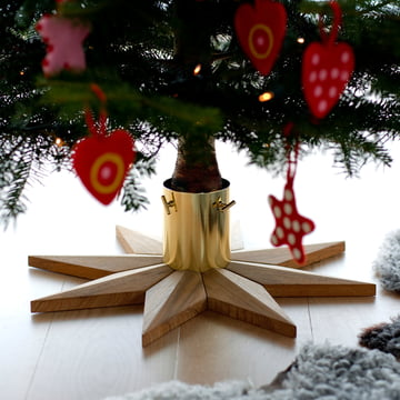 Skagerak - Christmas Tree Base, Teakholz
