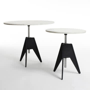 Screw Table in Groß und in Klein von Tom Dixon
