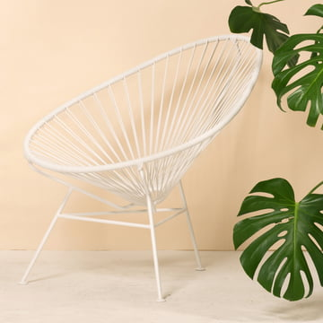 OK Design - The Acapulco Chair, weiß