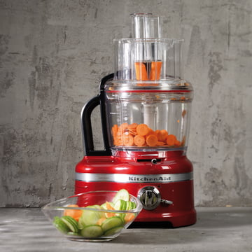 KitchenAid - Artisan Food Processor 4,0 l, empire rot