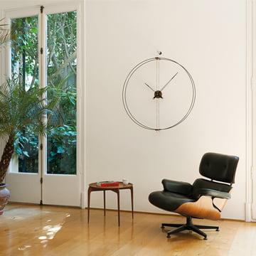 9 ausgefallene wanduhren zeit f r hingucker. Black Bedroom Furniture Sets. Home Design Ideas