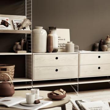 String regal in esche jetzt im wohndesign shop - Wohnzimmer regalsystem ...