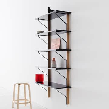 kaari wandregal 100 x 35 cm von artek. Black Bedroom Furniture Sets. Home Design Ideas