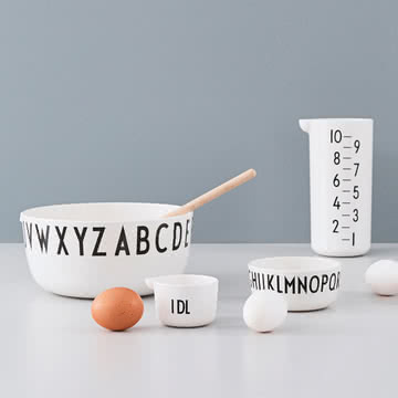 Die Design Letters - Cooking & Serving Bowl