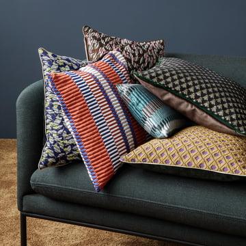 salon kissen pleat 40 x 40 cm von ferm living. Black Bedroom Furniture Sets. Home Design Ideas