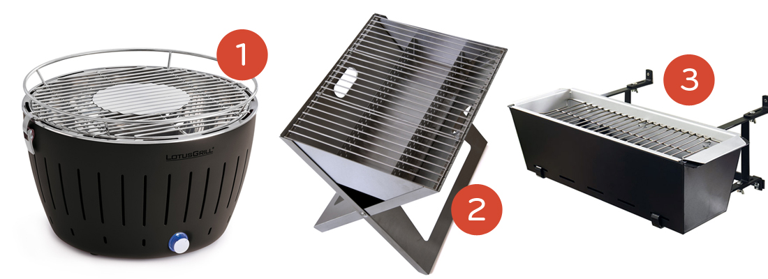 Awesome The Stainless Steel Material Adds An Elegant Look To The Grill And It  Raises The Heat Of It. If It Is Folded, It Wonu0027t Need Much Space. Images