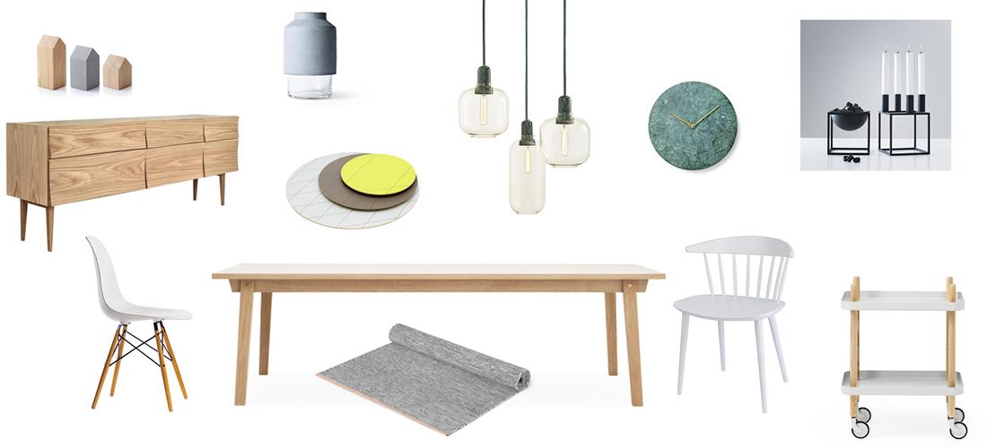 Viel Helle Farbe Mit Pastellgelben Und Tannengrünen Akzenten, Als Wärmender  Ausgleich Dazu Funktioniert Der Holztisch Ausgezeichnet.